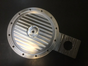 CNC berabejdet emne for vakuumplan