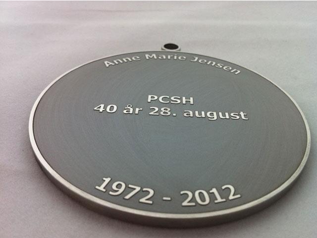 Lasergravering medalje