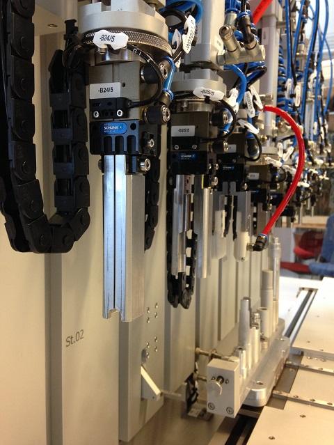 Specialmaskiner til pilotproduktion